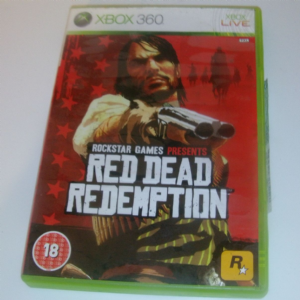 XBOX 360 Red dead redemption game boxed complete